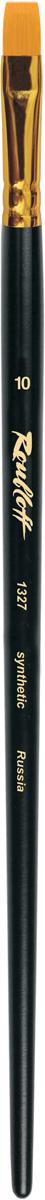 Roubloff Кисть 1327 синтетика плоская № 26 длинная ручка thule 4011