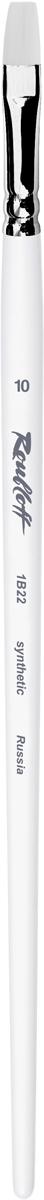 Roubloff Кисть 1B22 синтетика плоская № 36 длинная ручка roubloff кисть 1632 щетина овальная 36 длинная ручка