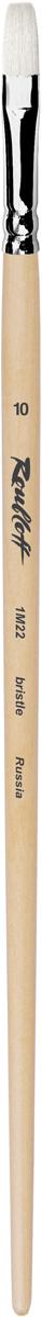 Roubloff Кисть 1M22 синтетика и щетина плоская № 20 длинная ручка roubloff кисть 1632 щетина овальная 36 длинная ручка