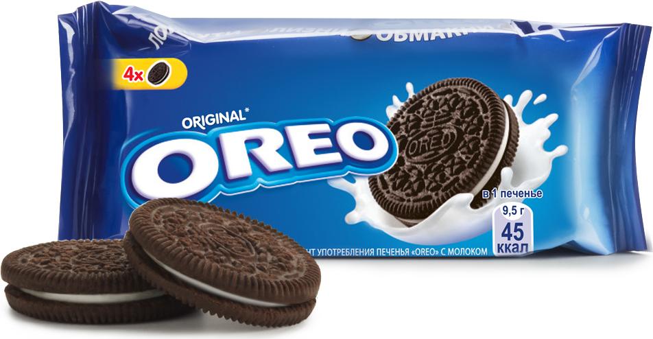 Oreo печенье, 38 г fluff зефир кремовый marshmallow с ванильным вкусом 213 г