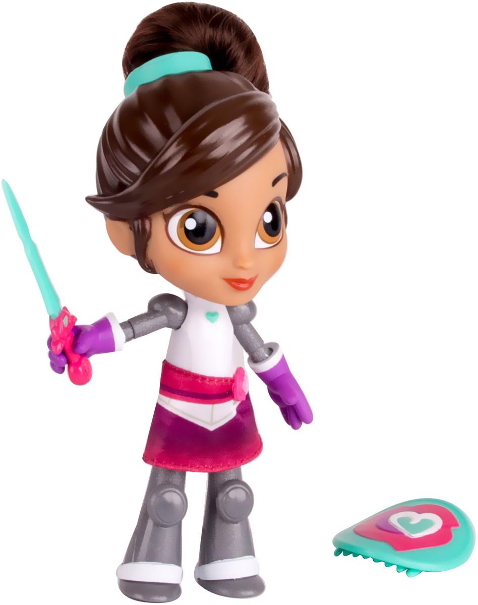 Nella Игровой набор с куклой Создай модный образ Рыцарь Нелла с аксессуарами11284Набор серии Коллекция приключений знакомит ребенка с отважной принцессой Неллой. Фигурка куклы очень похожа на свой оригинал из мультфильма. В этот раз она одета в рыцарские доспехи. В комплекте имеются аксессуары, которые помогут разнообразить игровой процесс, в том числе щит-расческа. Рекомендуем!