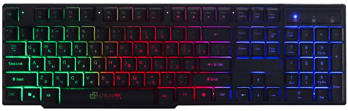 Игровая клавиатура Oklick Slayer 780G, Black oklick vortex 940g black игровая клавиатура