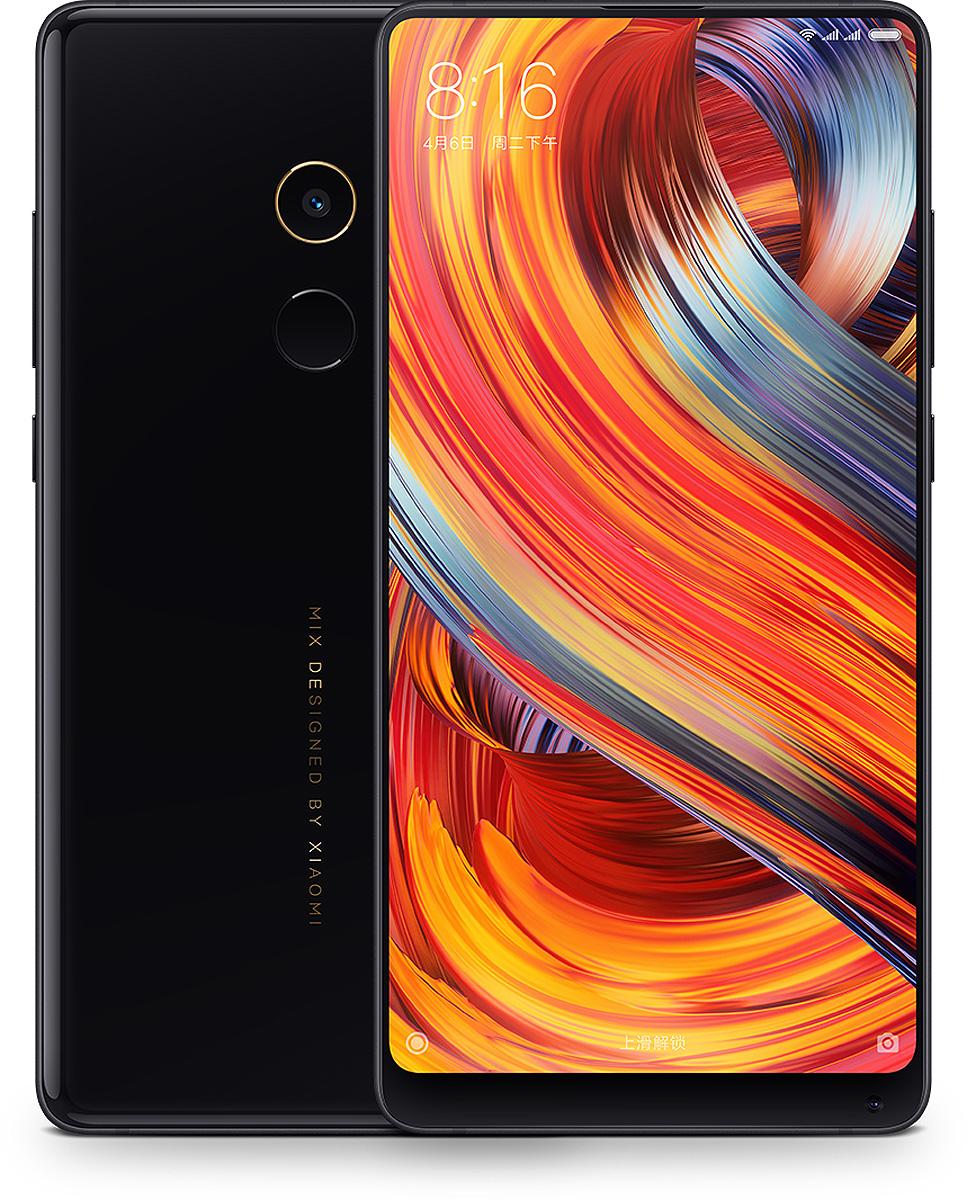Смартфон Xiaomi Mi Mix 2 6/64GB black goowiiz голубовато черный mi mix 2