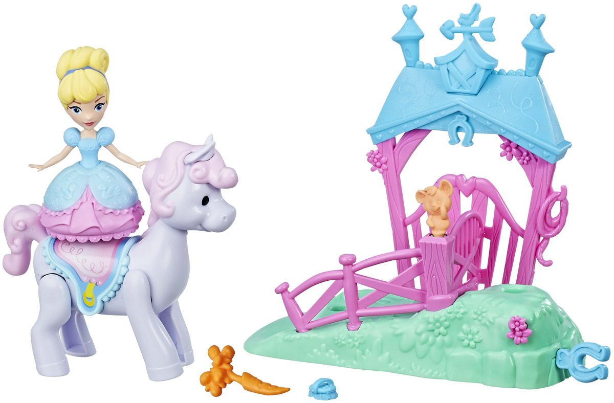 Disney Princess Игровой набор Cinderellas Pony Ride Stable
