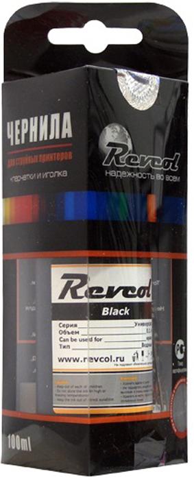 Revcol R-E-0,1-BD Black, чернила для принтеров Epson, 100 мл
