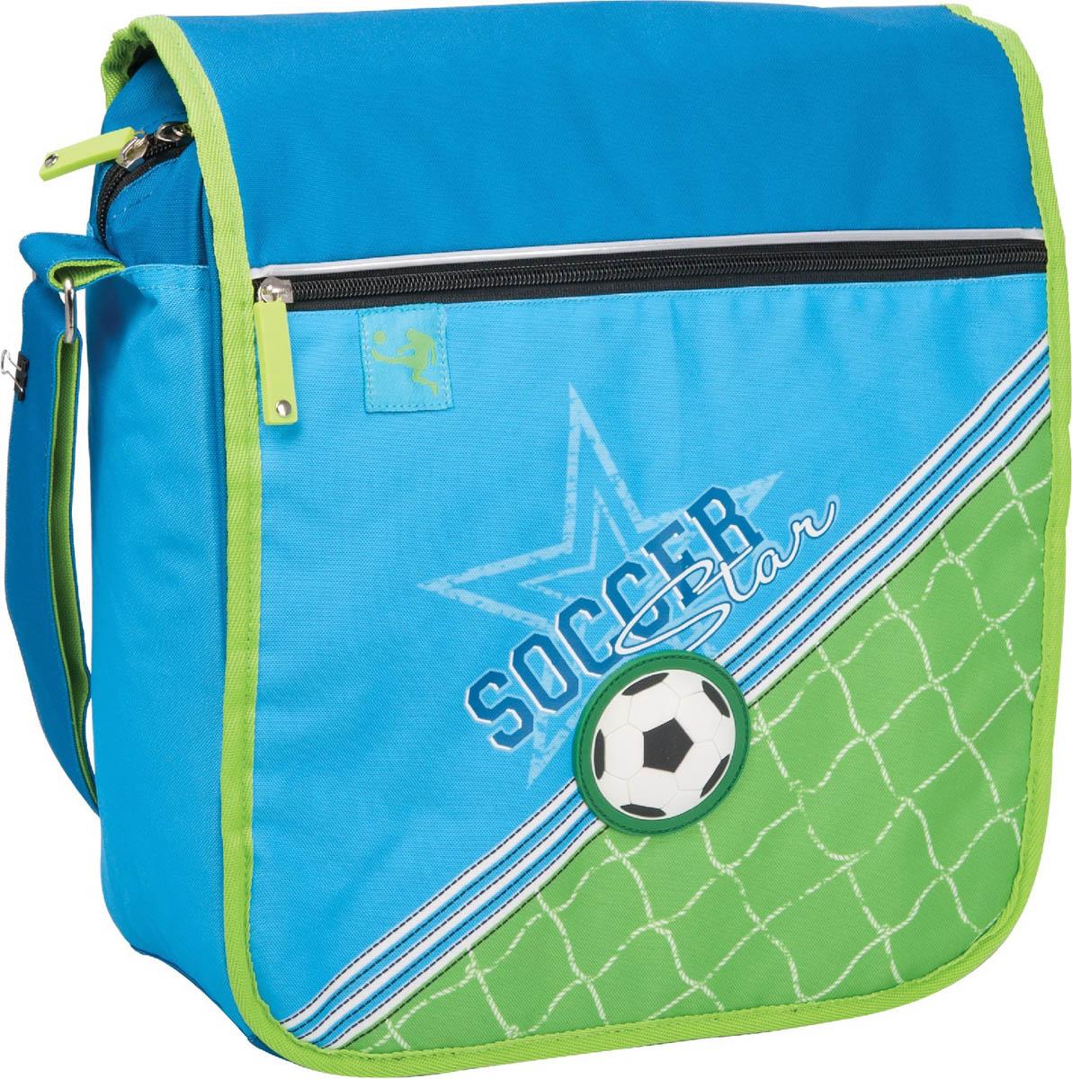 Сумка школьная ErichKrause Soccer erichkrause erichkrause сумка школьная pro sports league зеленая