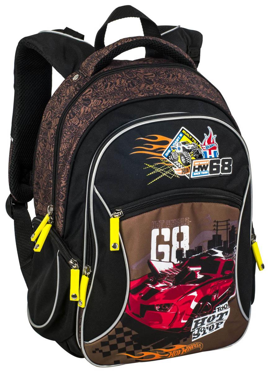 Рюкзак школьный ErichKrause Hot Wheels Racing цена и фото