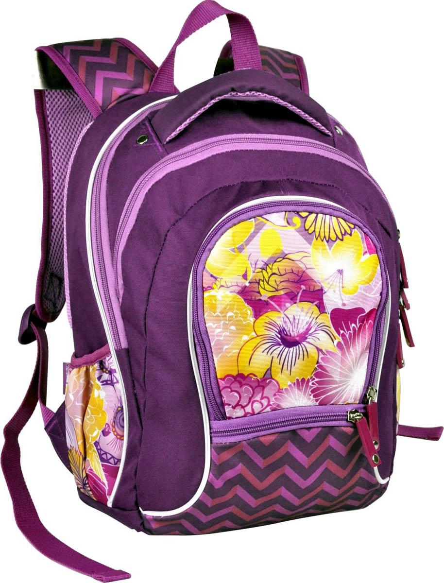 Рюкзак школьный ErichKrause Mistic Flowers цена и фото
