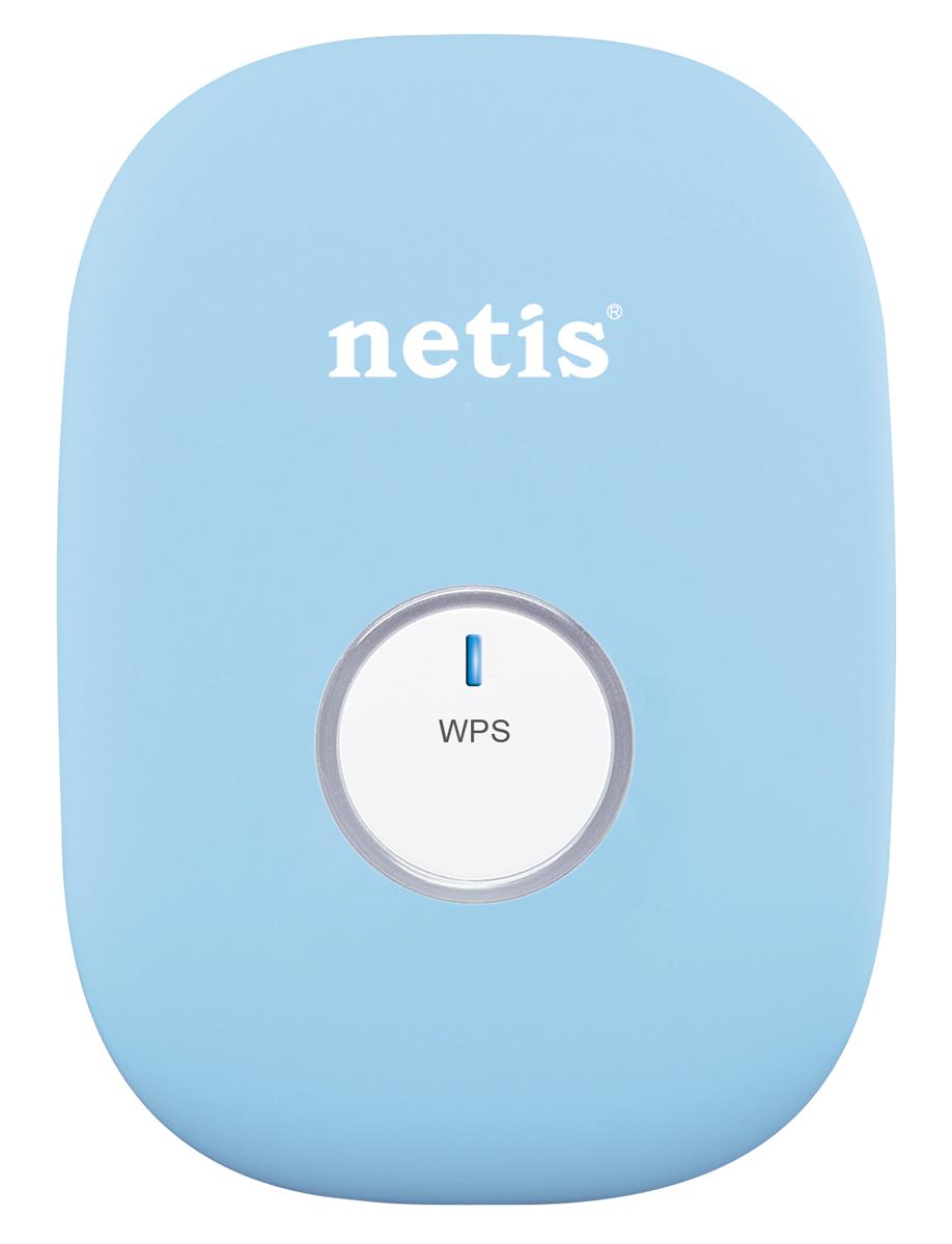 netis E1, Blue усилитель беспроводного сигнала усилитель слабого сигнала сети