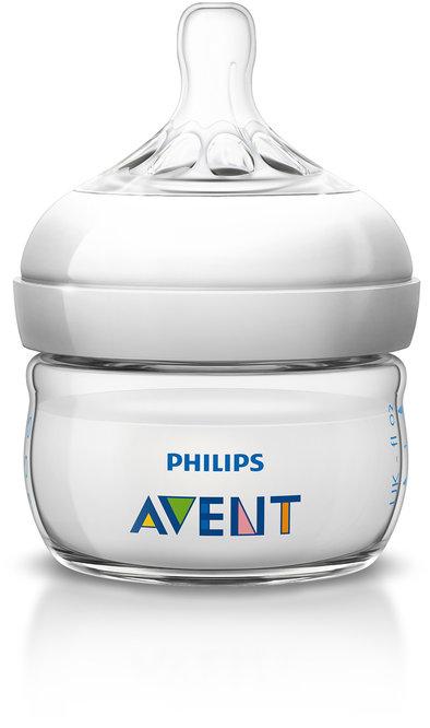 Philips Avent Бутылочка для кормления Natural 60 мл PHA-SCF699/17 бутылочка естественное кормление для младенцев 125 мл avent philips avent стандарт