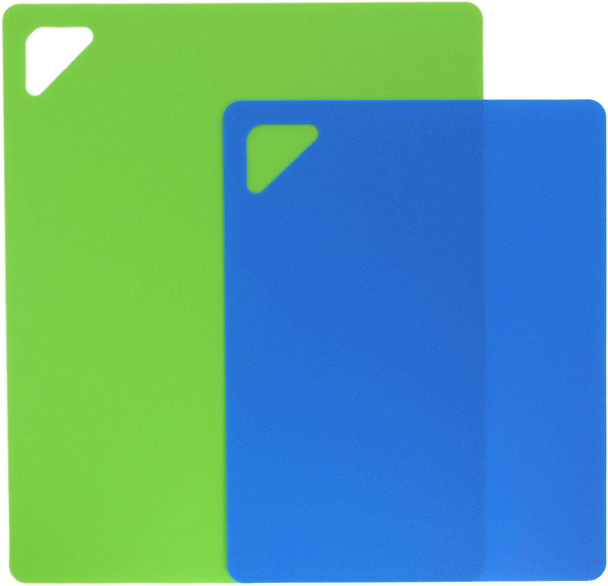 Набор разделочных досок Домашний Сундук, гибкие, цвет в ассортименте, 2 шт разделочная доска домашний сундук гибкая цвет красный синий 2 шт