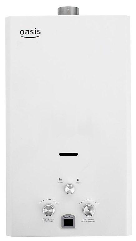 Водонагреватель Oasis OR-12W, газовый, проточный, белый цена и фото