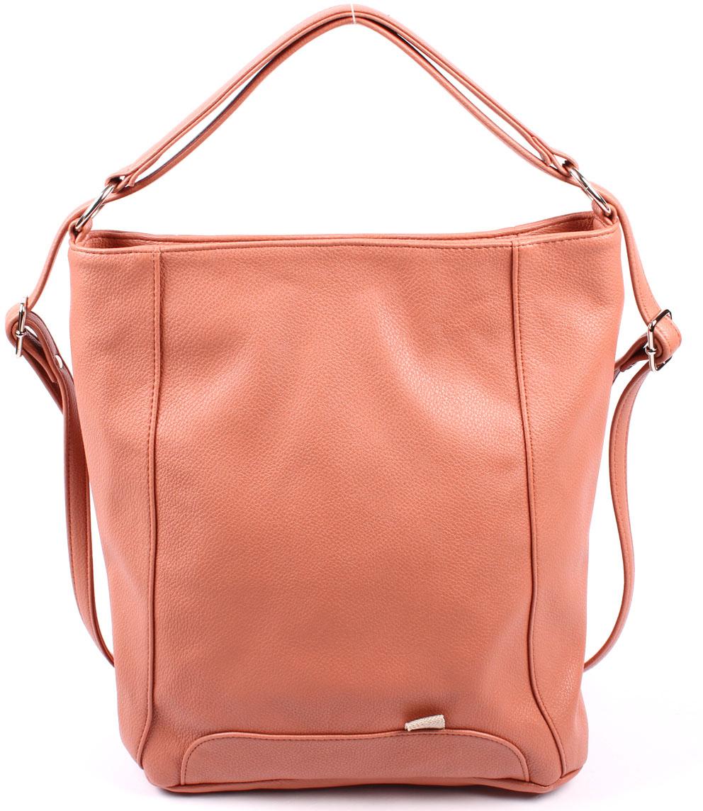 цена Рюкзак женский Медведково, цвет: розовый. 17с3690-к14 онлайн в 2017 году
