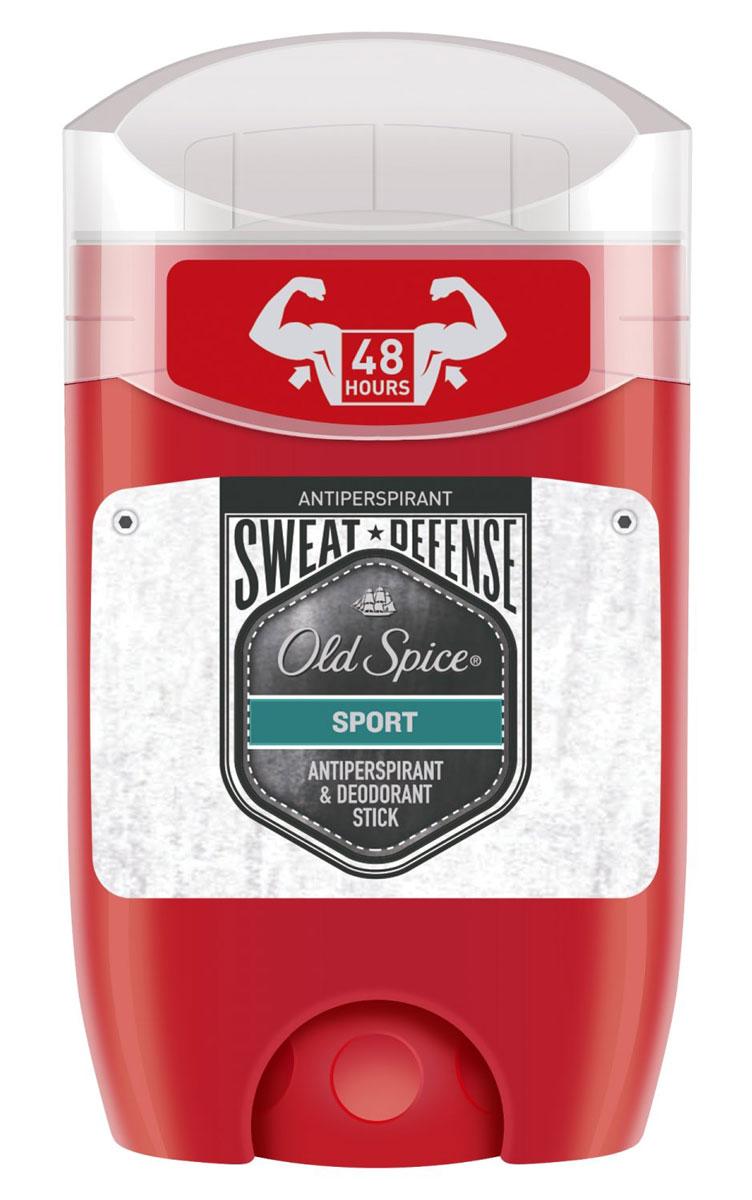 Дезодорант-антиперспирант твердый Old Spice Sweat Defense Sport, 50 мл