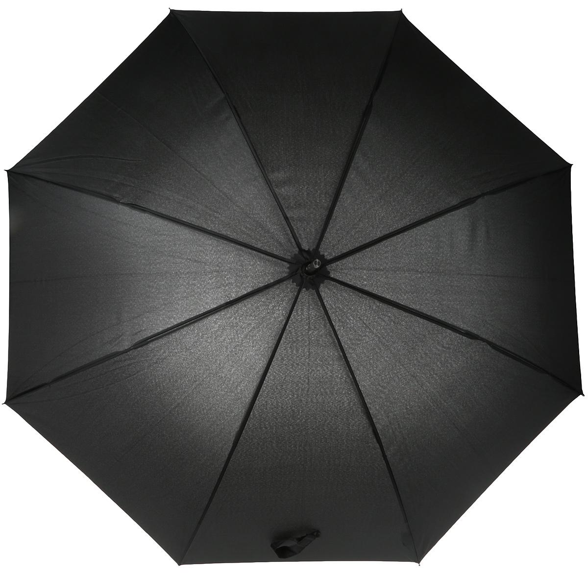 Зонт-трость мужской Magic Rain, автомат, цвет: черный. 14004 цены