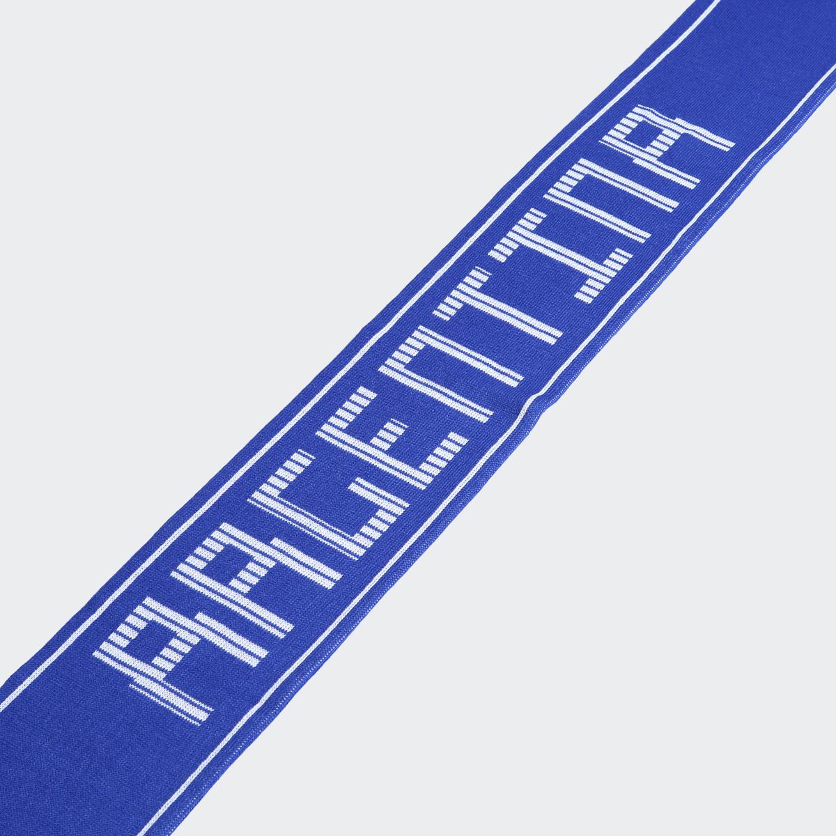 Шарф Adidas CF SCARF ARG, цвет: синий. CF5184. Размер универсальный