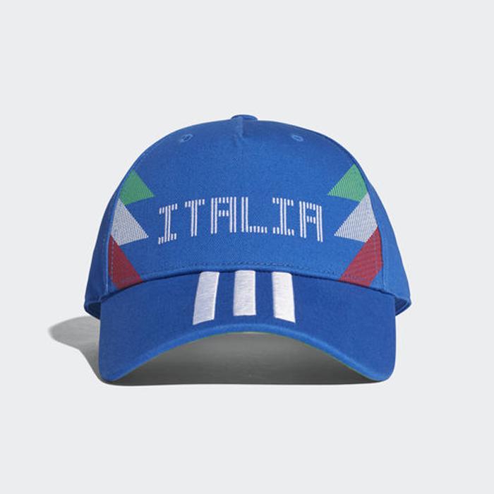 Бейсболка Adidas CF CAP ITA, цвет: синий. CF5190. Размер 56/58 цены онлайн