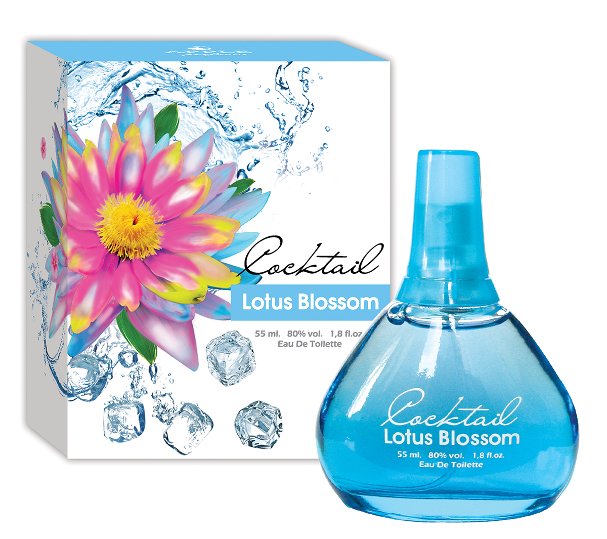 Туалетная вода Apple Parfums Cocktail Lotus Blossom, 55 мл