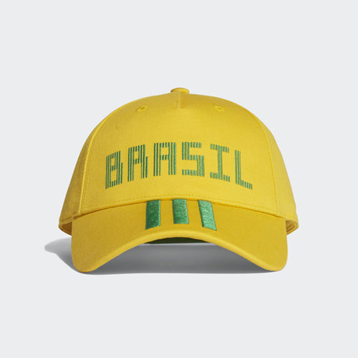 Бейсболка Adidas CF CAP BRA, цвет: желтый. CF5199. Размер 60/62 бейсболка puma sf ls baseball cap цвет темно оливковый 02177602 размер универсальный