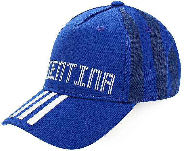 Бейсболка Adidas CF CAP ARG, цвет: синий. CF5198. Размер 60/62 пуховик мужской adidas helionic ho jkt цвет темно синий bq1998 размер xxl 60 62