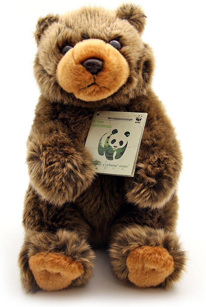WWF Мягкая игрушка Медведь бурый 23 см