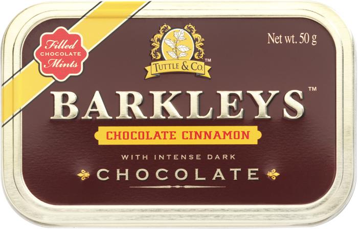 Barkleys Chocolate Cinnamon драже шоколад корица, 50 г цены
