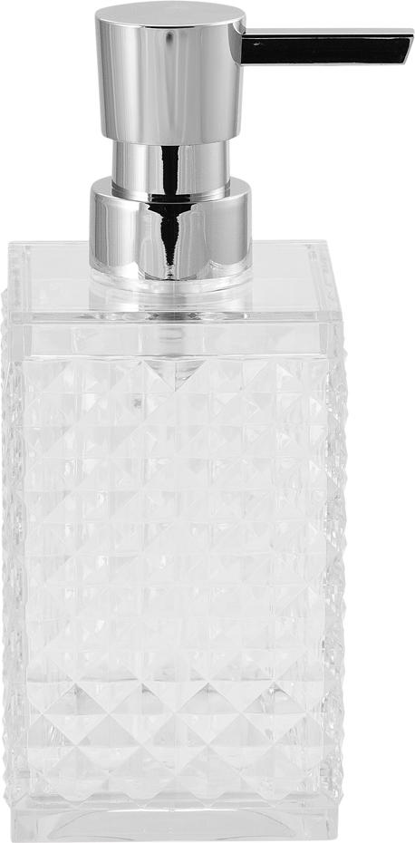 Диспенсер для мыла Swensa Rapas, цвет: прозрачный, 250 мл дозатор насадка verseur