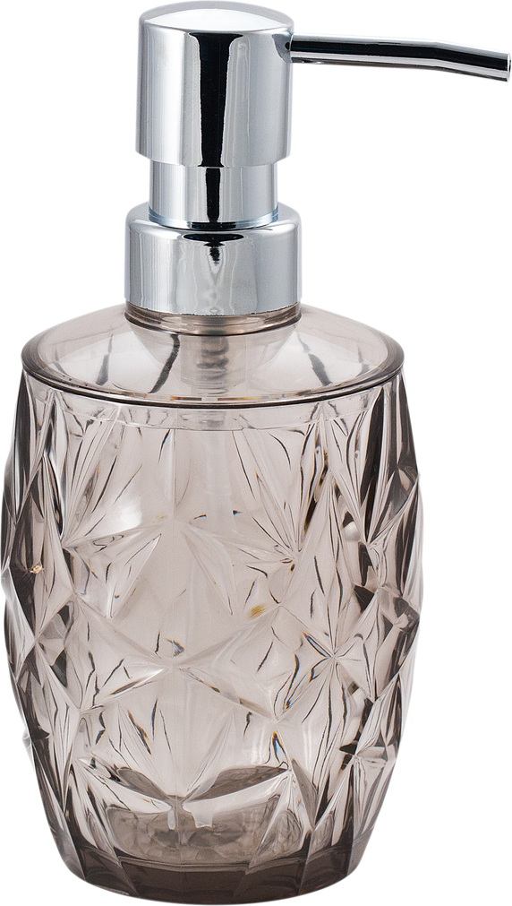 "Диспенсер для мыла Swensa ""Asti"", цвет: серый, 250 мл"