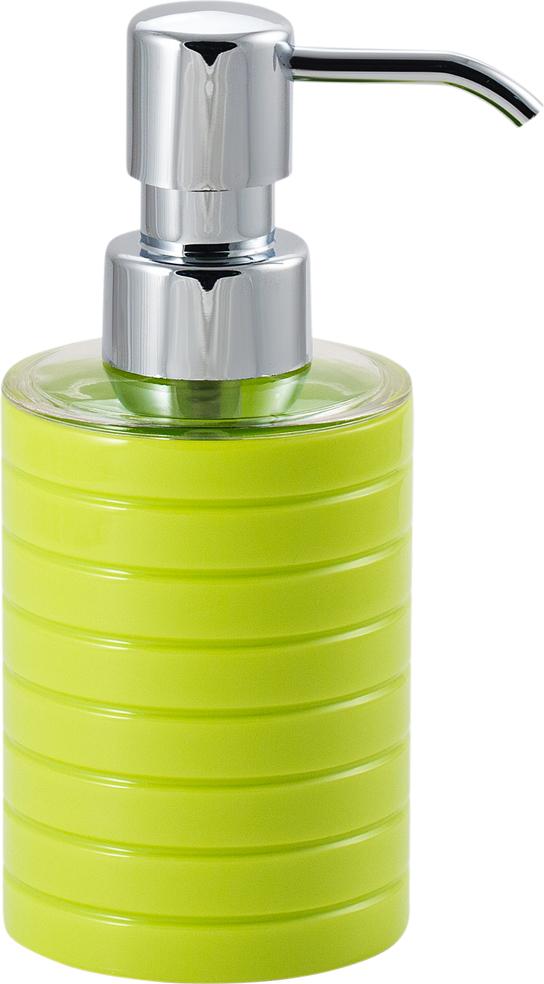"Диспенсер для мыла Swensa ""Trento"", цвет: зеленый, 250 мл"