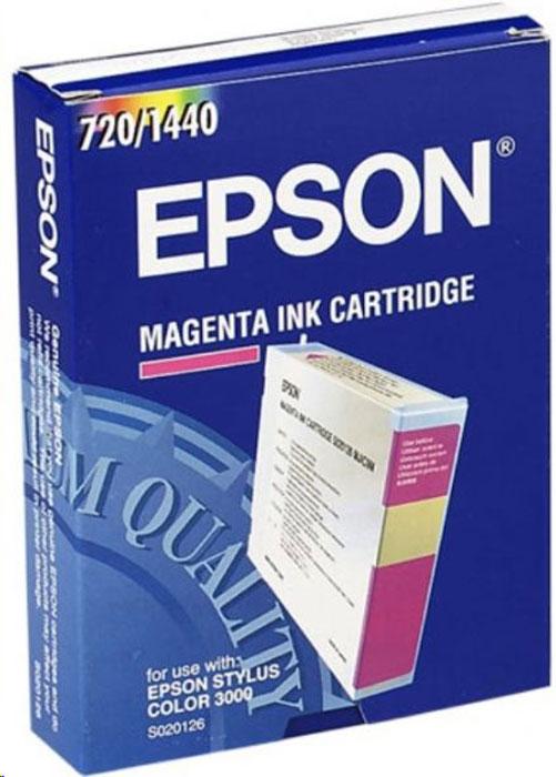 Картридж Epson S020126 (C13S020126), пурпурный цены онлайн