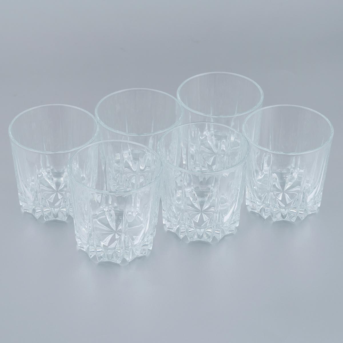 Набор стаканов для сока Pasabahce Карат, 200 мл, 6 шт набор подсвечников pasabahce алания высота 5 5 см 6 шт