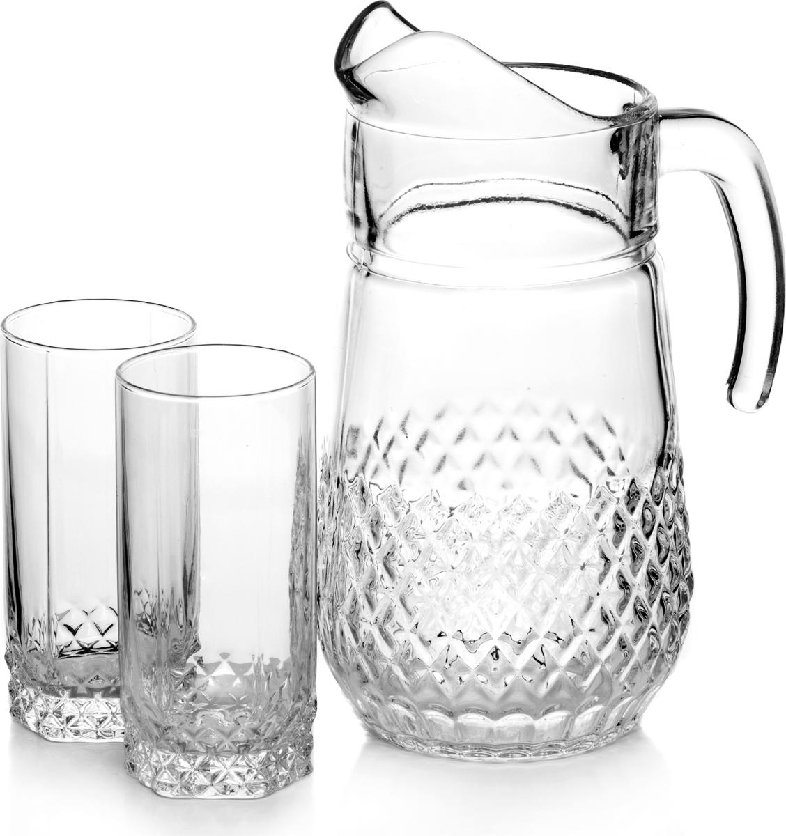 Набор питьевой Pasabahce Valse, 7 предметов набор питьевой pasabahce sylvana 7 предметов