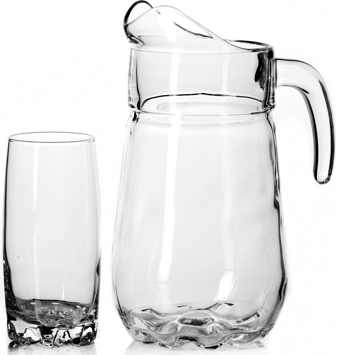 Набор питьевой Pasabahce Sylvana, 7 предметов набор питьевой pasabahce sylvana 7 предметов