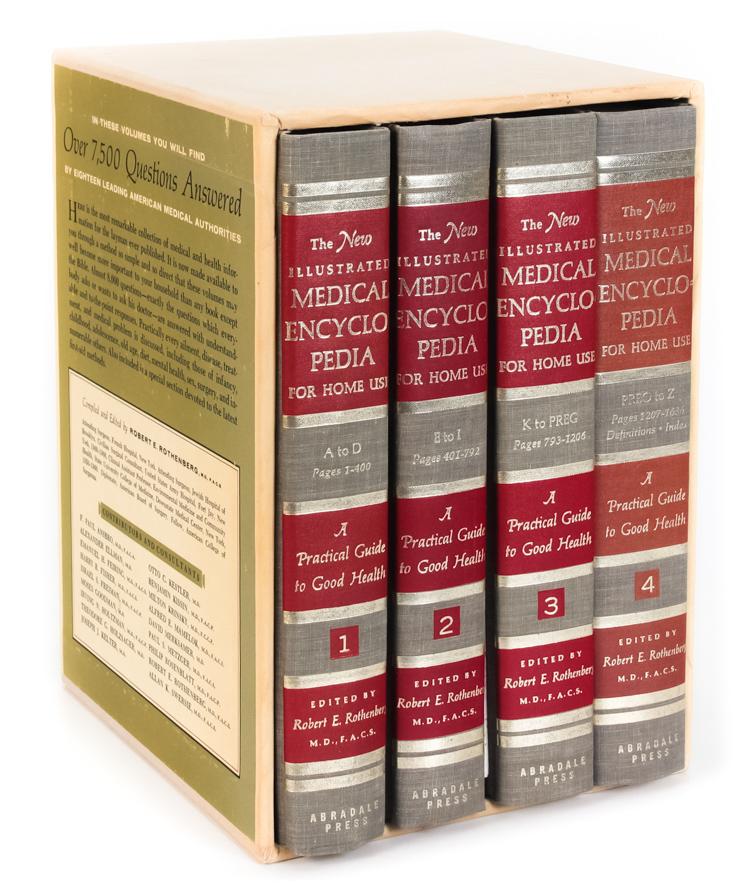 цены на Robert E. Rothenberg The New Illustrated Medical Encyclopedia for Home Use (комплект из 4 книг)  в интернет-магазинах