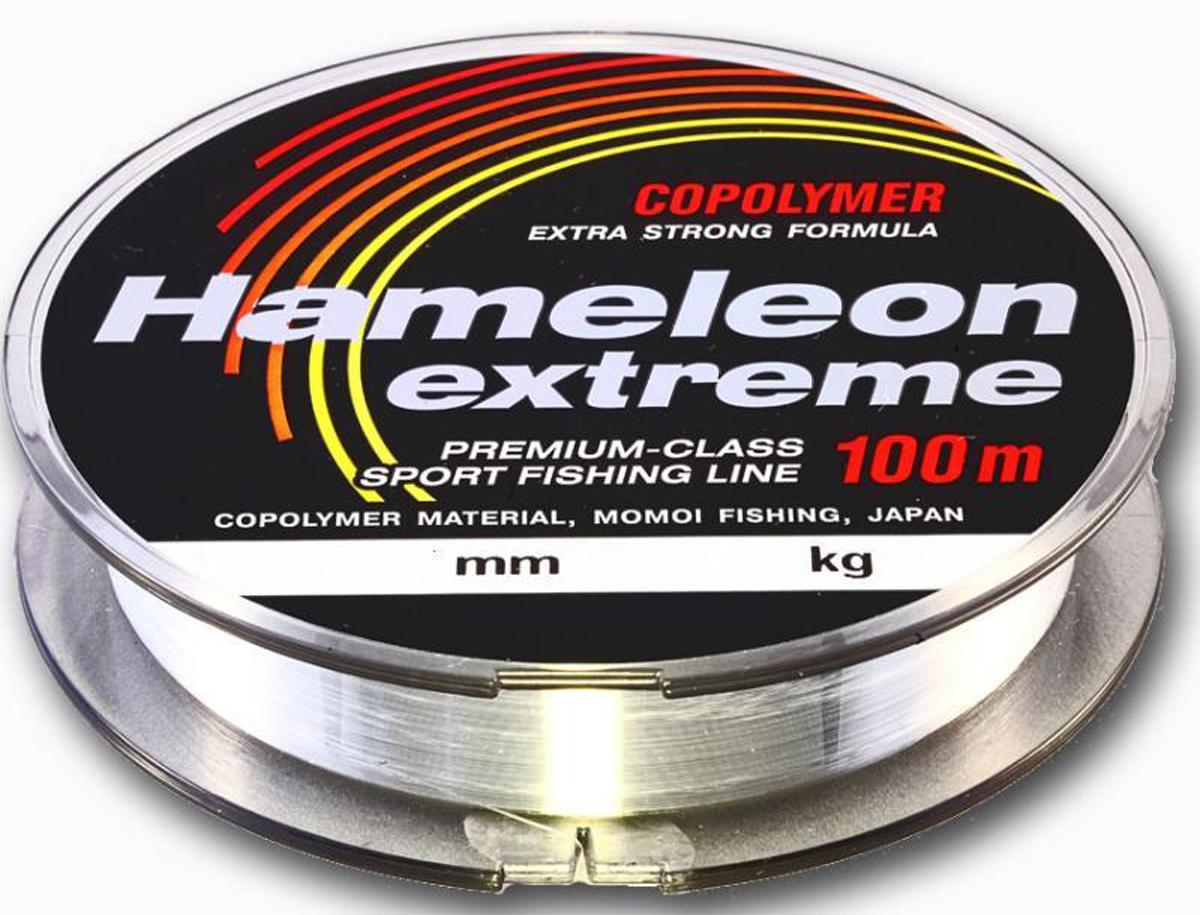 Леска Momoi Fishing Hameleon Extreme, 100 м, 0,33 мм, 12 кг