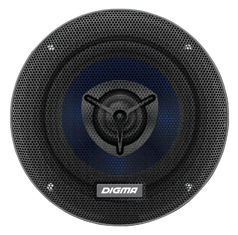 Digma DCA-B402, Black колонки автомобильные автоакустика digma dca a602 160вт 90дб 4ом 16см 6 5дюйм ком 2кол коаксиальные двухполосные