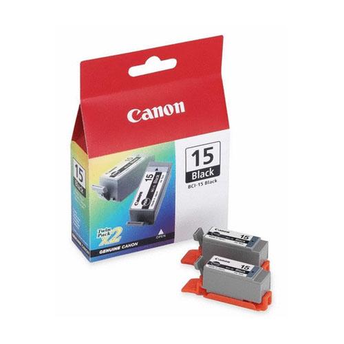 Картридж Canon BCI-15 Black, черный, для струйного принтера, оригинал