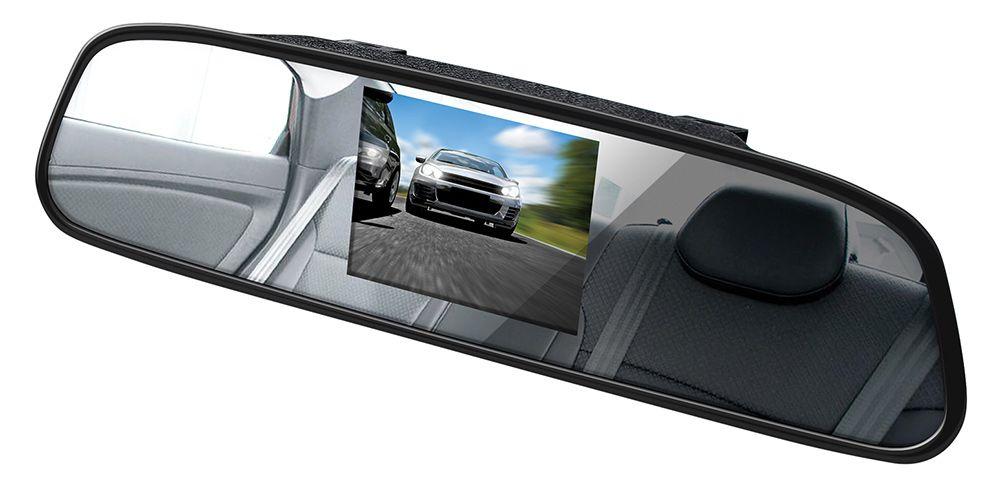 Автомобильный монитор Digma 4.3, черный как подключить веб камеру