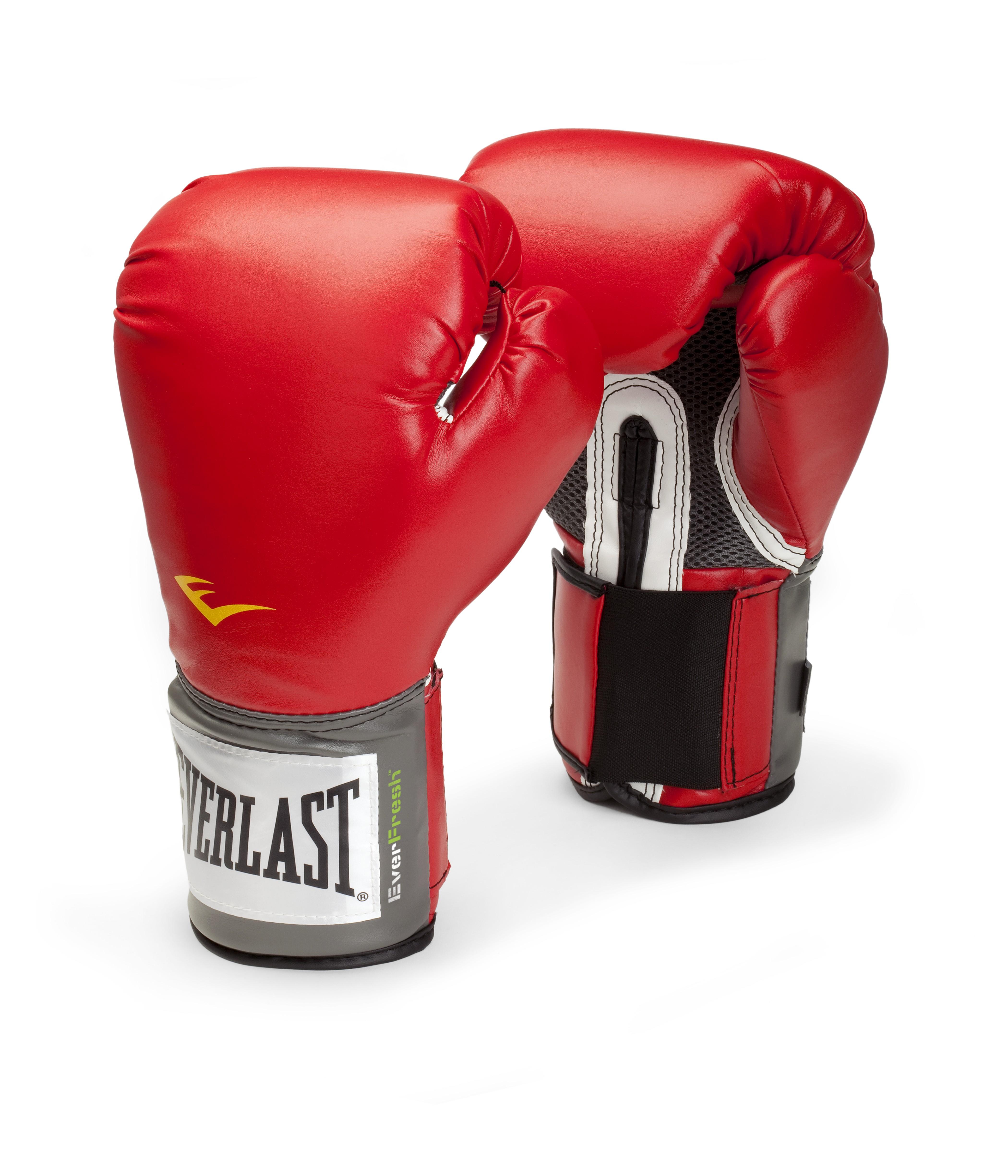 """Перчатки тренировочные Everlast """"Pro Style Anti-MB"""", цвет: красный. Вес 8 унций"""