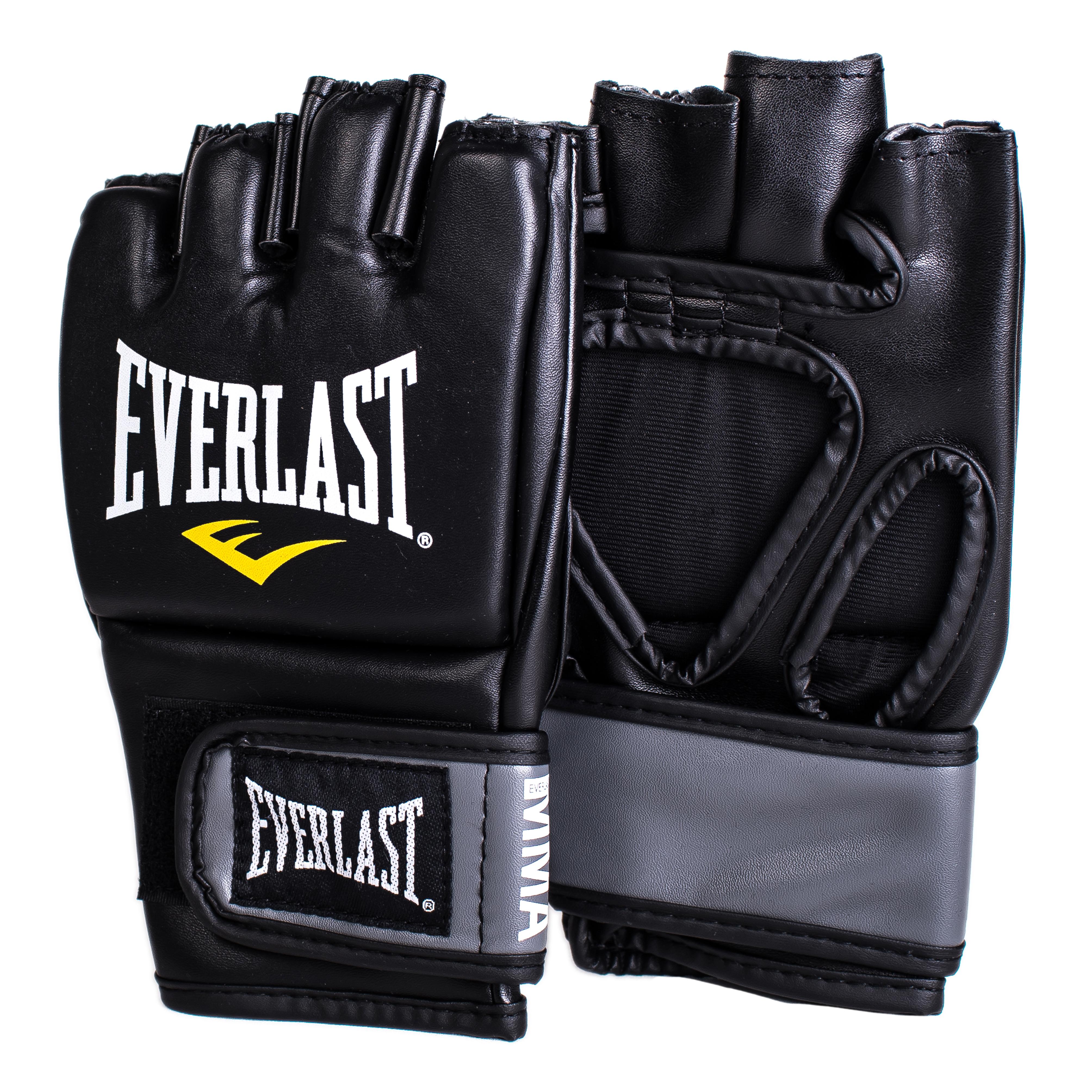 Перчатки тренировочные Everlast Pro Style Grappling, цвет: черный. Размер L/XL цена