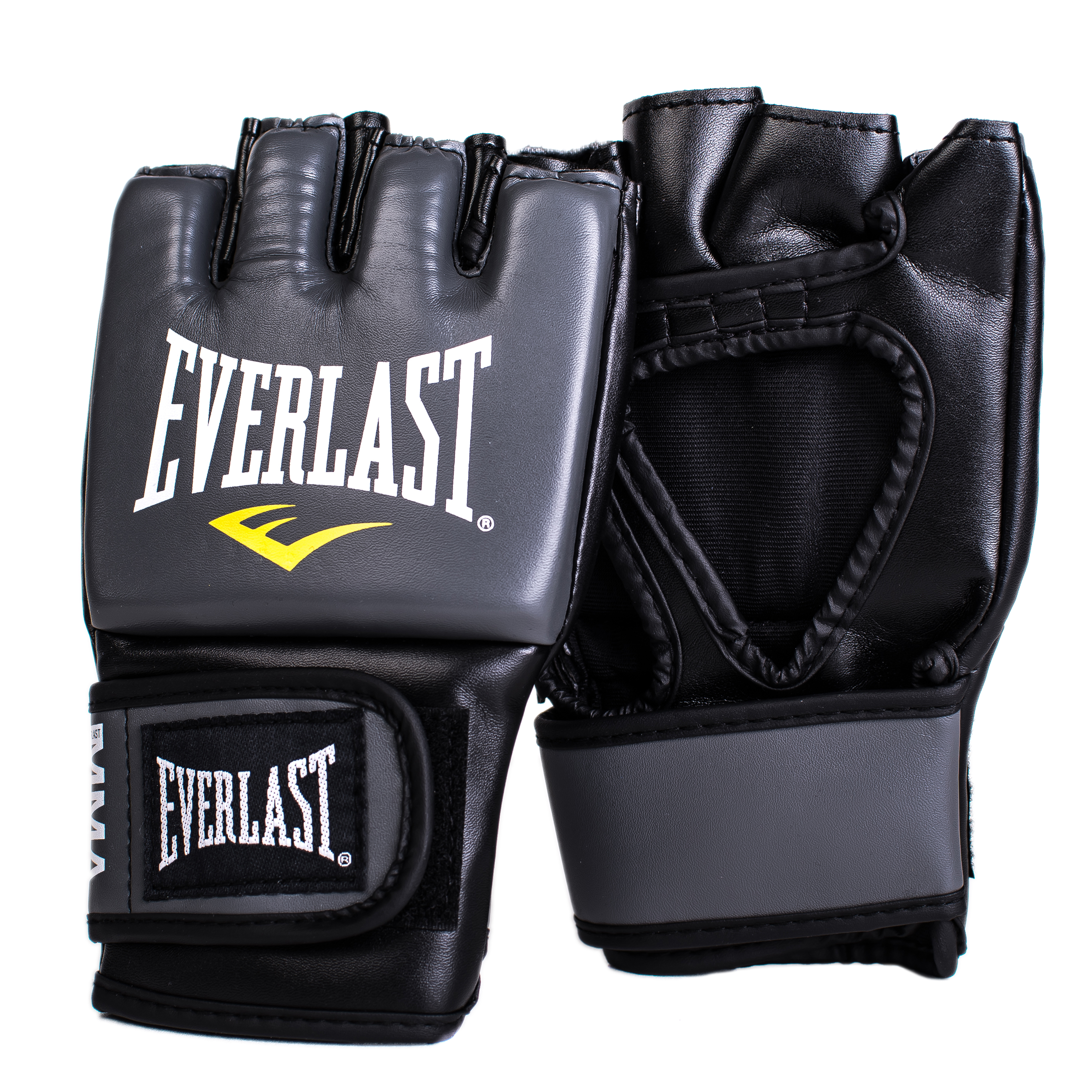 Перчатки тренировочные Everlast Pro Style Grappling, цвет: серый. Размер L/XL цена