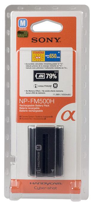 Sony NP-FM500H батарея для фото/видеокамеры