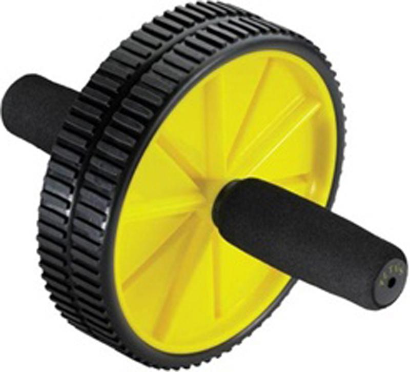Ролик гимнастический Joerex, 2 колеса00011414Данное оборудование дает возможность тренировать плечевые мышцы, укреплять мышцы спины. Легкость выполнения упражнений на ролике-колесе достигается за счет присутствия механизма, с помощью которого выполняется возвратное движение. Тренажер очень устойчив за счет присутствия в конструкции колес в количестве 2 штук.