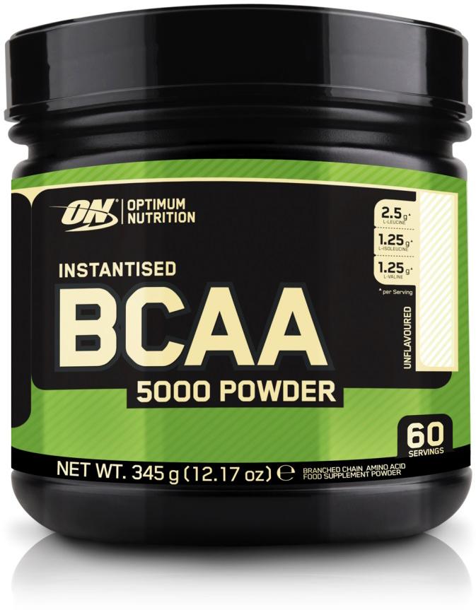 Аминокислоты Optimum Nutrition BCAA 5000 Powder, без вкуса, 345 г кружка printio optimum nutrition bcaa