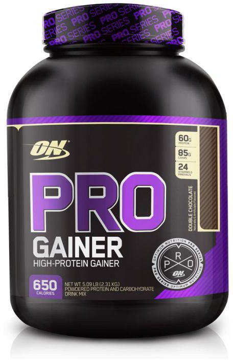 Гейнер Optimum Nutrition Pro Gainer, шоколад, 2,22 кг цена