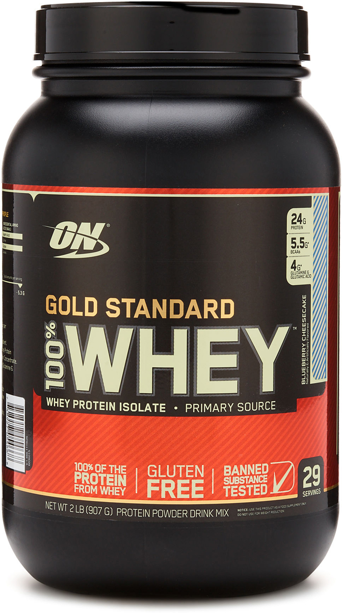 Протеин Optimum Nutrition 100% Whey Protein Gold Standard, чизкейк, 900 г цена
