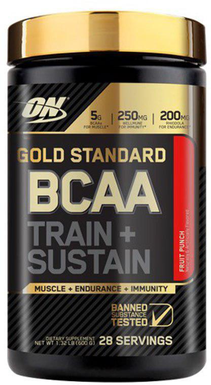 Аминокислоты Optimum Nutrition Gold Standard BCAA, фруктовый, 280 г цена