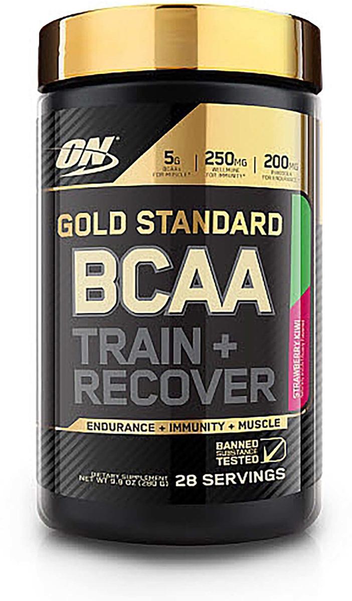 Аминокислоты Optimum Nutrition Gold Standard BCAA, клубника, 280 г цена
