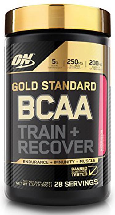 Аминокислоты Optimum Nutrition Gold Standard BCAA, арбуз, 280 г цена