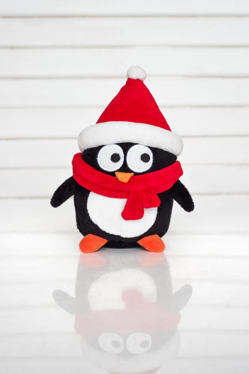 Мягкая игрушка Плюш Ленд DN16-18R черный, красный, белый